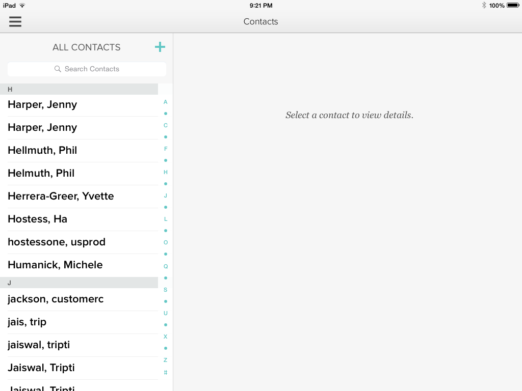 Dottie Contact List