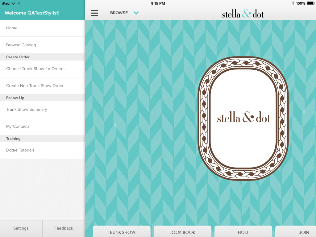 Dottie Side Menu